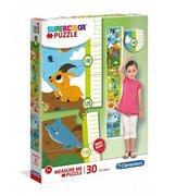 Puzzle 30 Measure me Cuties Animals