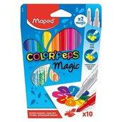 Flamastry Colorpeps Magic 8+2 MAPED