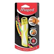 Zakreślacz Roller Fluo Peps żółty bls MAPED