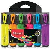 Zakreślacz Fluo Peps 6 kolorów MAPED