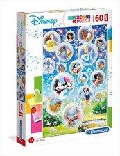 Puzzle 60 Maxi Super kolor Disney classic