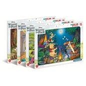 Puzzle ramkowe 15 Super kolor Winnie the pooh