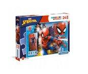 Puzzle 24 maxi Super kolor Spiderman