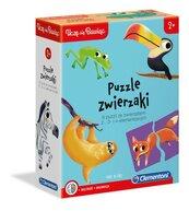 Uczę się Bawiąc Puzzle zwierzaki