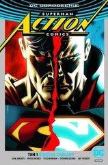 Superman Action Comics T.1Ścieżka zagłady(srebrna)