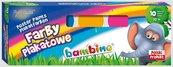Farby plakatowe 10 kolorów 20ml BAMBINO