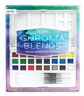 Paleta akwareli Chroma Blends 27 elementów