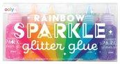 Klej z brokatem Rainbow Sparkle 6 kolorów