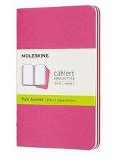 Zestaw 3 zeszytów Cahier Journals 13x21 linie pink