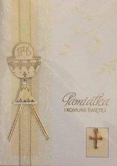 Karnet Komunia Premium B6 + koperta wzór nr 004