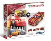 Puzzle 104 3D model Cars