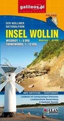 Mapa atrakcji - Wyspa Wolin w. niemiecka 1:45 000