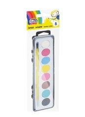 Farby wodne 8 kolorów FIORELLO