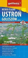 Mapa - Beskid Ślącki: Ustroń, Goleszów i okolice
