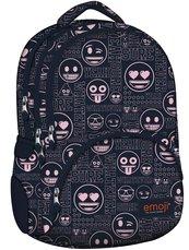 Plecak 4-komorowy Emoji Pink