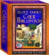 Złoty pakiet: gry biblijne CD/DVD