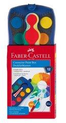 Farby szkolne Connector 12 kolorów FABER CASTELL