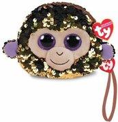 TY Fashion - cekinowa torba na nadgarstek Małpa