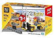 Klocki Blocki MyCity 3w1 62 el