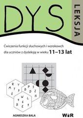 Dysleksja 11-13 lat