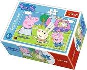 Puzzle 54 mini Wesoły dzień Świnki Peppy 4 TREFL