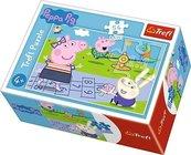 Puzzle 54 mini Wesoły dzień Świnki Peppy 3 TREFL