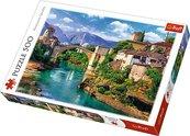 Puzzle 500 Stary most w Mostarze TREFL