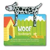 Zwierzęca zakładka do książki - Woof - Pies