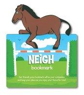 Zwierzęca zakładka do książki - Neigh - Koń