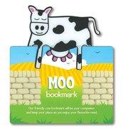 Zwierzęca zakładka do książki - Moo - Krowa