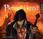 Płomień i krzyż T.3 audiobook