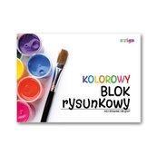 Blok rysunkowy kolorowy A3/20K (10szt) STRIGO