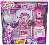 Shopkins S9 Wild Szkoła tańca Kitty zestaw