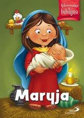 Kolorowanka biblijna Maryja