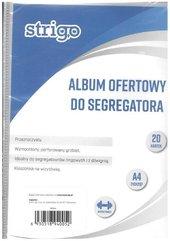 Album ofertowy A4 20 koszulek STRIGO