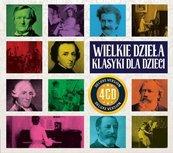 Wielkie Dzieła klasyki dla dzieci (4CD)