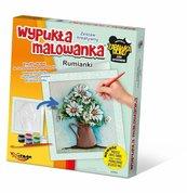 Wypukła Malowanka - Kwiaty Rumianki