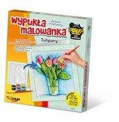 Wypukła Malowanka Kwiaty - Tulipany