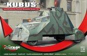 Samochód Pancerny Kubuś Powstanie Warszawskie 1944