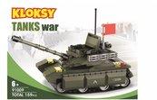 Klocki Kloksy Armia czołg 159 elementów