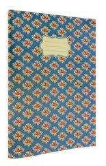 Vintage B Zeszyt A4 40 stron linia niebieski