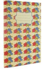 Vintage B Zeszyt A6 32 stron róże