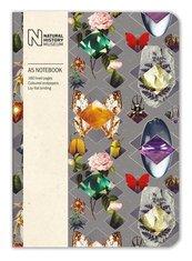 Notatnik ozdobny A5 Beetles and Jewels 160 stron