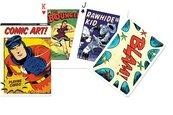 Karty poj. international Vintage Comic Art PIATNIK