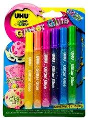 Klej brokatowy Creative Glitter 6 kolorów UHU