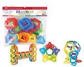 Klocki szczotkowe - puzzle 32 elementy