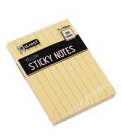 Notes samoprzylepny 75x100mm w linie D.RECT
