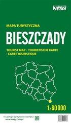 Bieszczady. Mapa turystyczna 1:60 000 składana
