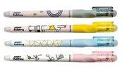 Długopis usuwalny Style 0,5mm niebieski (12szt)