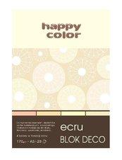 Blok A5/20K Deco Ecru 170g HAPPY COLOR